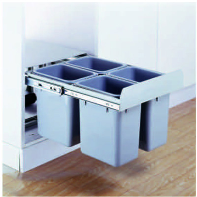 Drwing PVC dustbin
